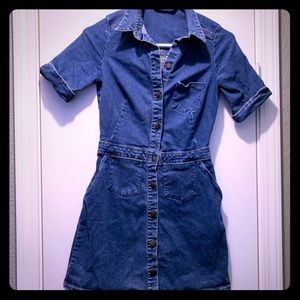*ZARA* Denim Dress
